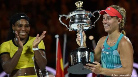 Angelique Kerber'den sürpriz zafer