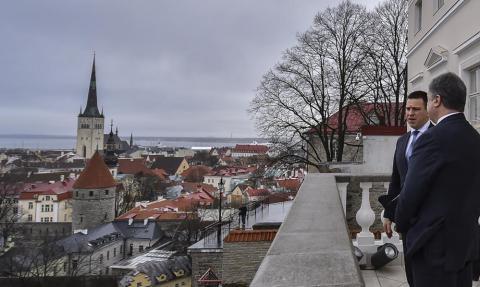 Poroşenko resmi ziyareti ile Estonya'da